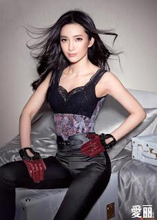 Li Bingbing In Black Lingerie