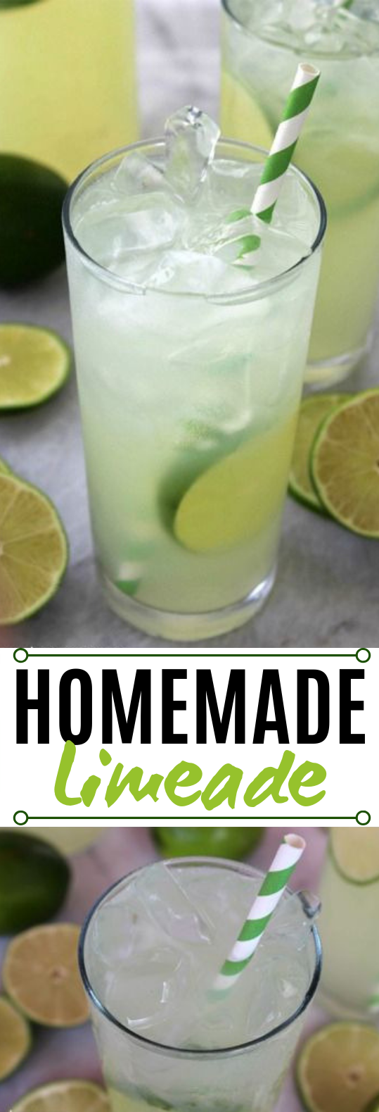 Homemade Limeade #summer #drinks