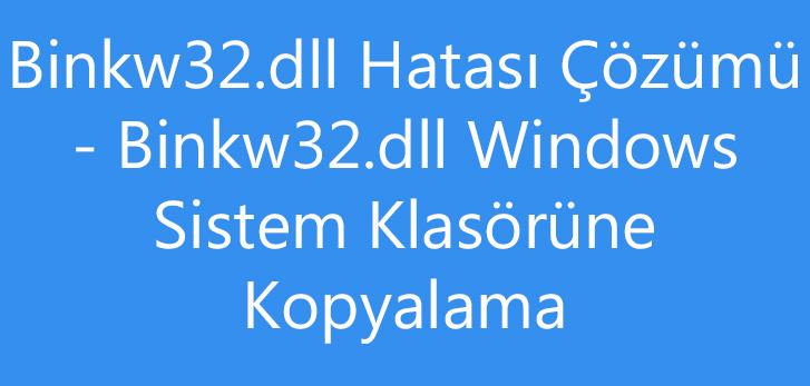 binkw32.dll download