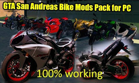 GTA San Andreas Bike Mods Pack for PC