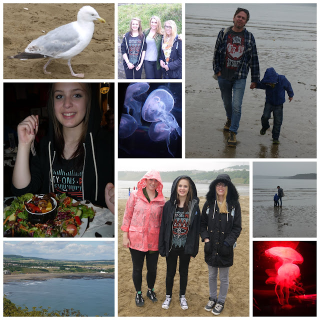 Yorkshire, beach, family, holiday