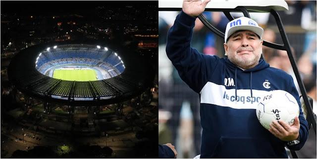 Napoli Tukar Nama Stadium!