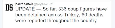 korban kudeta militer Turki