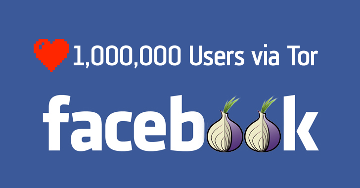 More than 1 million People now access Facebook Over Tor Network
