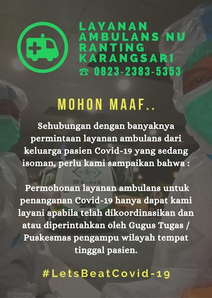 Pagebluk | Ambulans Karangsari Banjir Orderan
