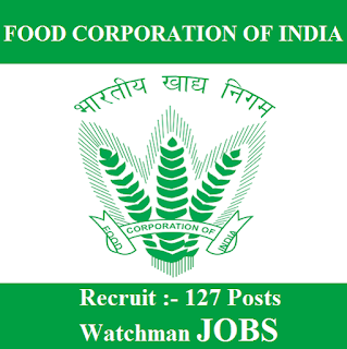 Food Corporation of India, FCI, Kerala, Watchman, 10th, freejobalert, Sarkari Naukri, Latest Jobs, Hot Jobs, fci logo