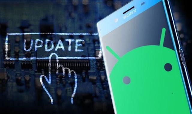 update sistem operasi handphone