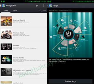 Xwidget Pro : Percantik Tampilan Homescreen Android Menjadi Lebih Keren