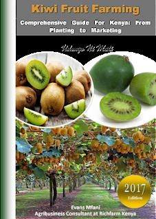 kiwi fruit farming in kenya pdf
