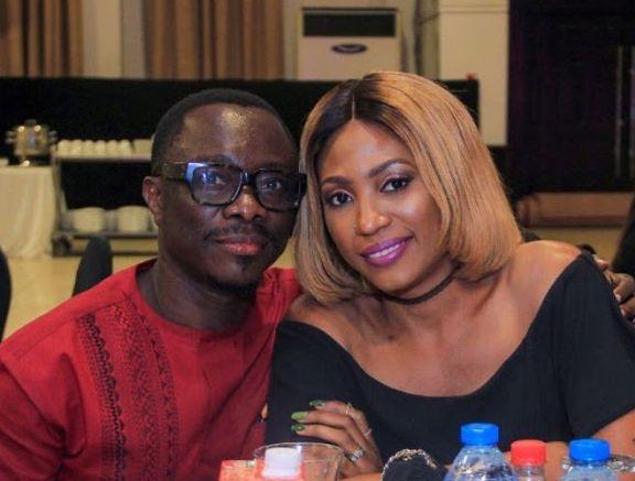 Julius Agwu celebrates his wife Ebiere as she graduates from Discipleship Training Institute