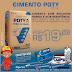 Cimento Poty 25 kg por R$ 19,90