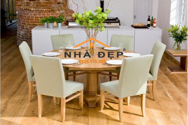 bọc ghế bàn ăn