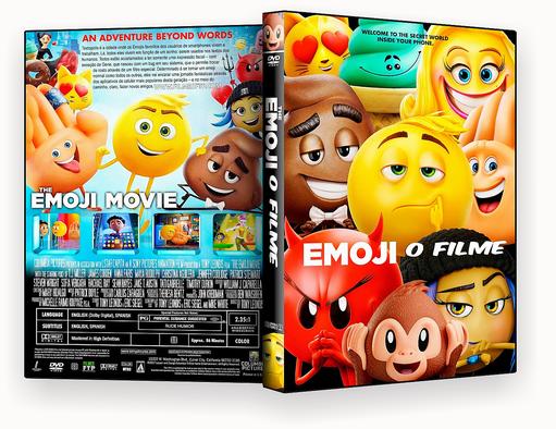 Emoji O Filme 2017 Dublado DVD-R