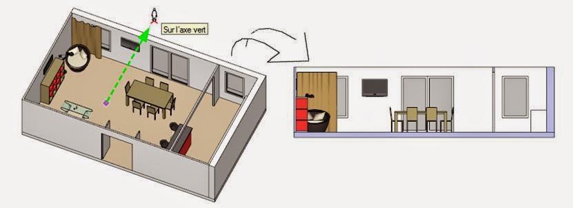 Formation sketchup parler en 3d cr er une coupe ou un for Realiser un plan 3d
