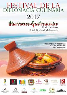 Premier Festival Culinaire A la ville de Las Palmas Cuisine Marocaine à l'honneur
