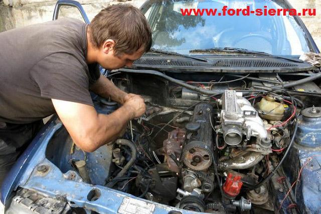 Расход бензина на Ford Sierra - таблица показаний расхода топлива