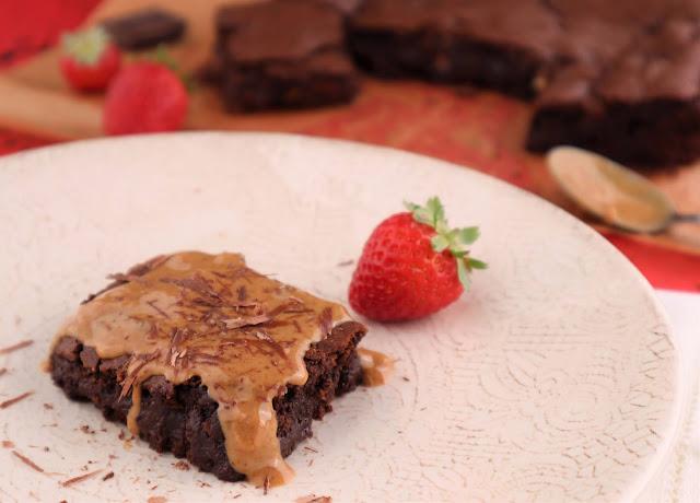 Brownie Vegan de Chocolate e Amendoim