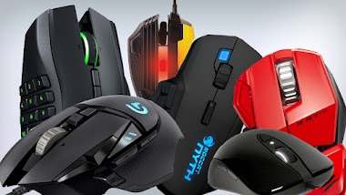 best ergonomic and comfortable PC gaming Mouse