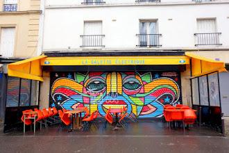 Sunday Street Art : dAcRuZ - boulevard de la Villette - Paris 19