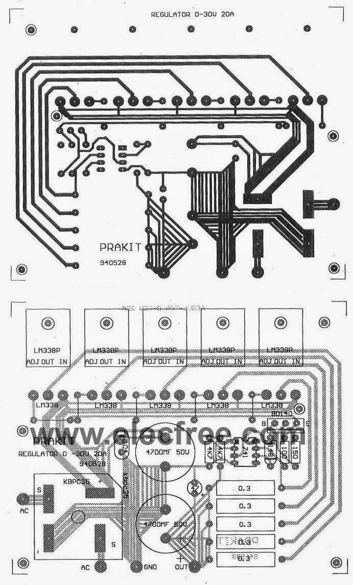 12 volt 30 power supply schematic
