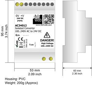 Power Supply ADFweb AC34012