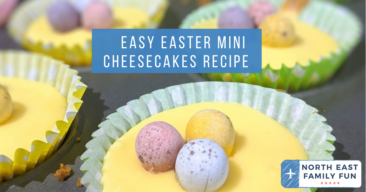 Easy Easter Mini Cheesecakes Recipe