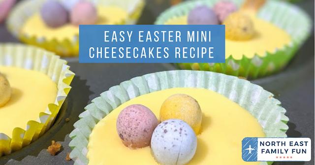 Easy Easter Mini Cheesecakes Recipe