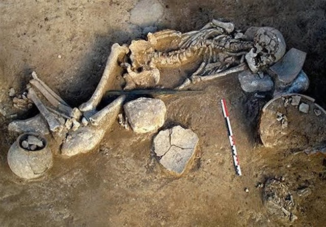 3000-year-old skeleton unearthed in northern Iran