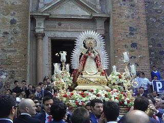Resultado de imagen de Virgen de la Coronada Calañas blogspot
