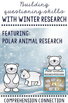 Questioning can be taught with a variety of methods. In this post, these questioning techniques are explained. This polar animals paper bag research book is featured within the post.