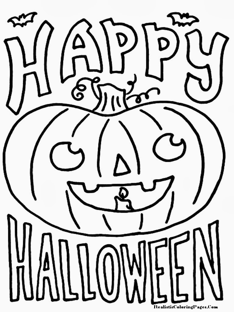 Printable Happy Halloween 2017 coloring pages for Kids Adults to ...