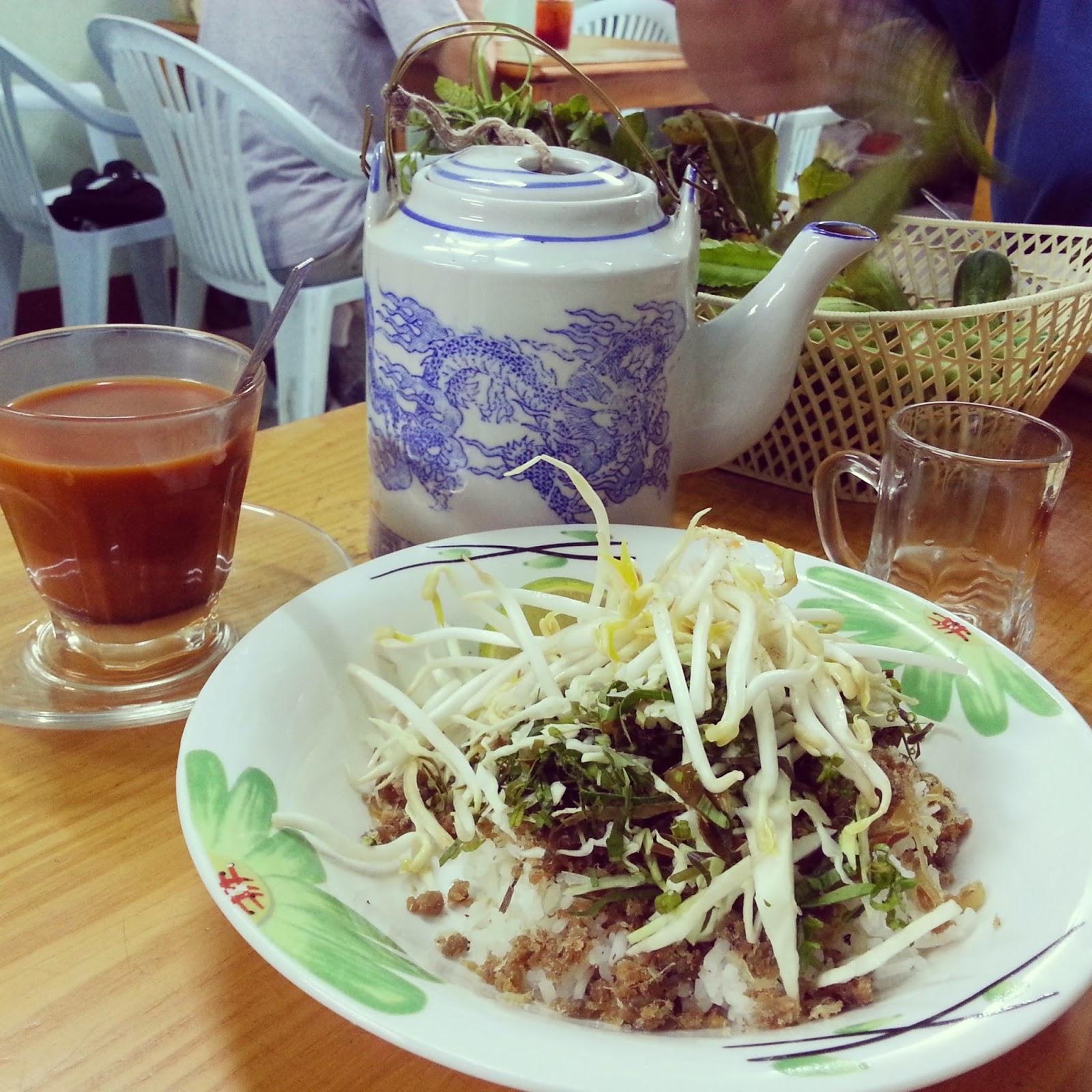 "Local food ""Khao Yam"""
