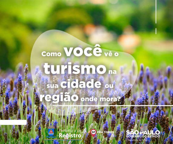 Pesquisa Online de Percepção do Turismo da cidade de Registro-SP