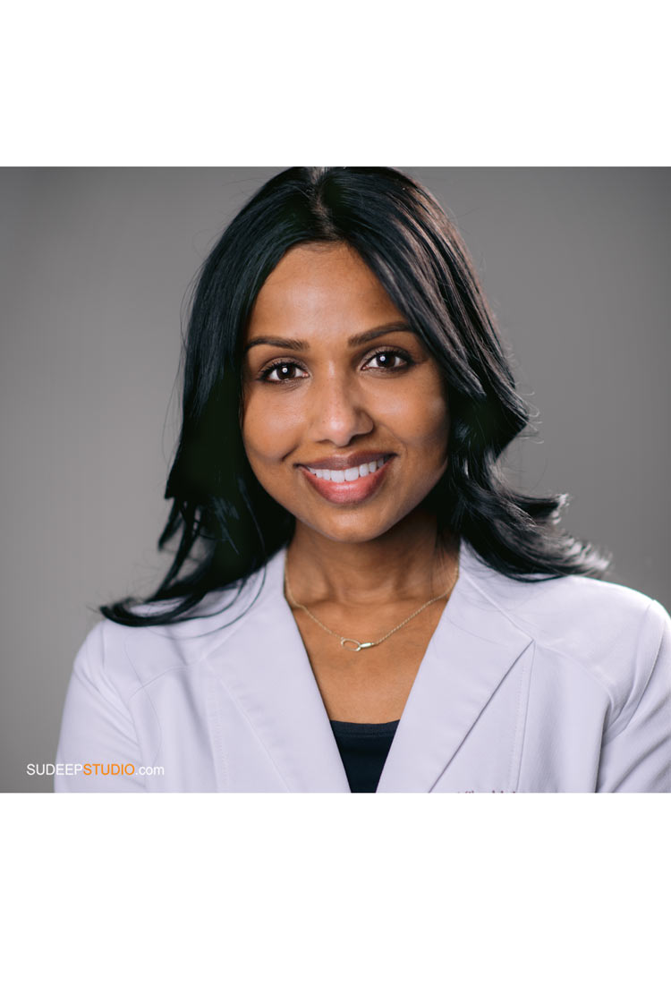 Professional Portraits for Women Indian Doctors for Hospital Clinic Website by SudeepStudio.com Ann Arbor Medical Headshot Photographer