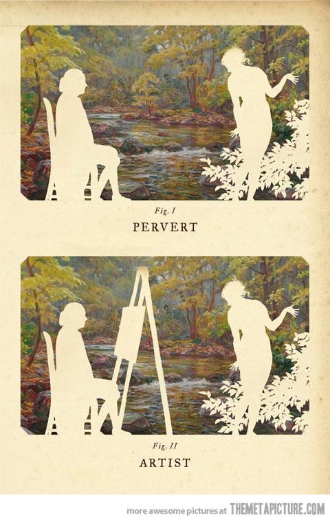 pervert vs. artist
