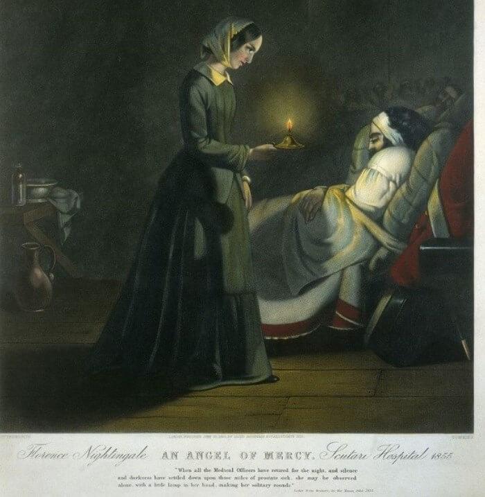 Florence Nightingale rawat pesakit