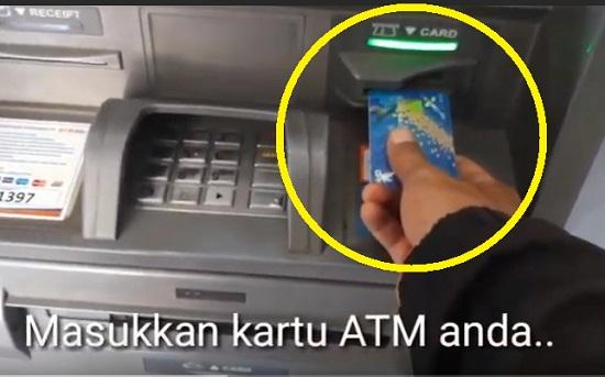 Memulai Transaksi di ATM BRI Untuk Ambil Uang