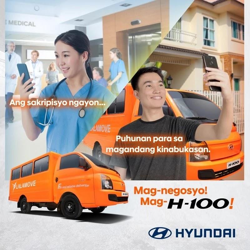 Hyundai H100 x Lalamove