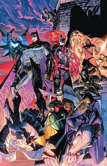 La Bat-Familia al completo