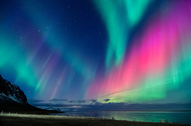 Iceland's Northern Lights in the tourism off-season