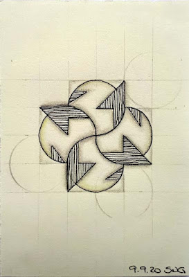 Square One™: Purely Zentangle® fragment S1PZ with C