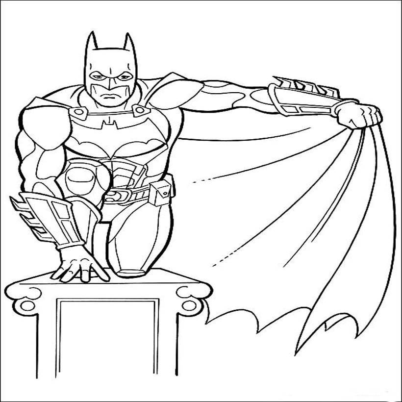Batman coloring pictures pages for kids ~ Coloring Pictures