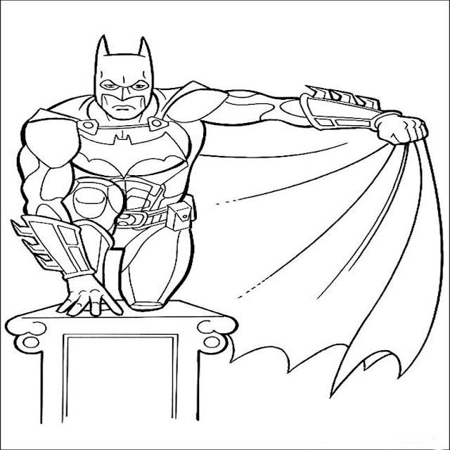 batman kids coloring pages   Batman coloring pictures pages for kids ~ Coloring & Cartoons