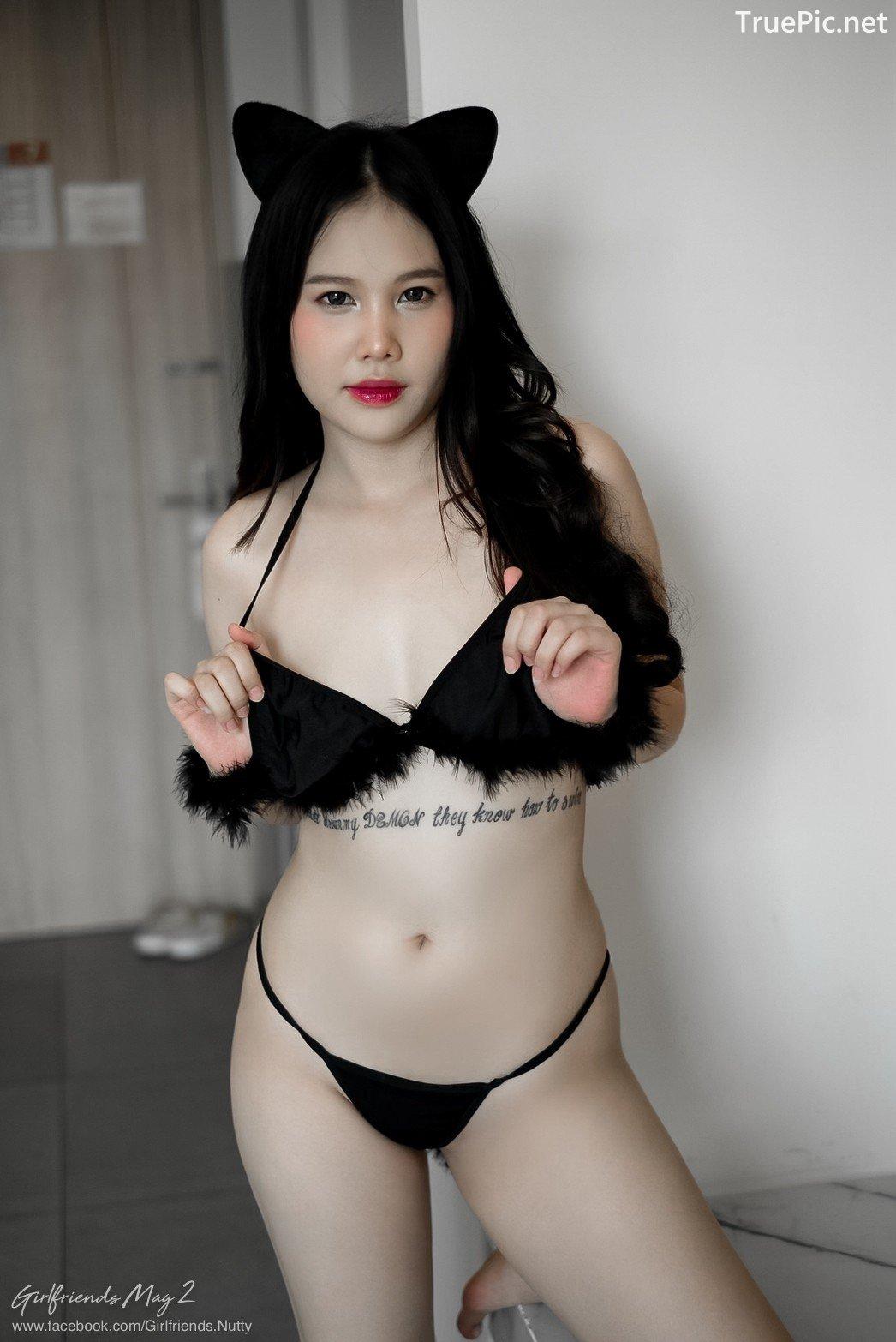 Image Thailand Model - Chanunshida Phuangsombut - Sexy Black Cat - TruePic.net - Picture-3