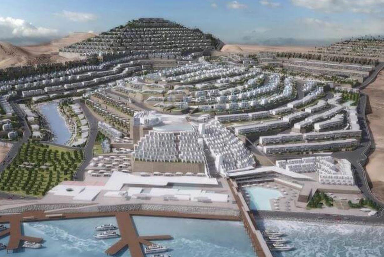"""""""مدينة الجلالة"""" المصرية الساحرة على ساحل البحر الأحمر"""