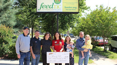 Unilever, The Dale Jr. Foundation Donate to Help FeedNC