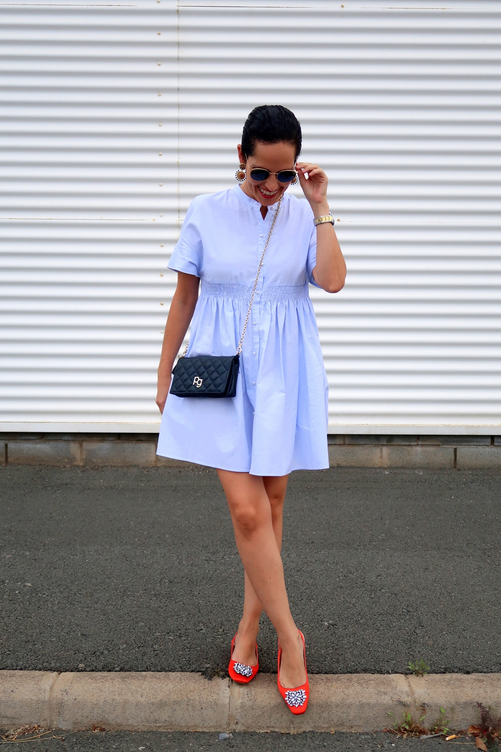 zara-blue-dress-outfit