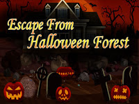 Top10NewGames - Escape From Halloween Forest