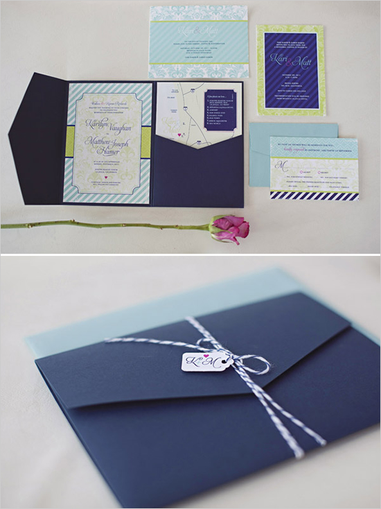 invitation mariage bakers twine