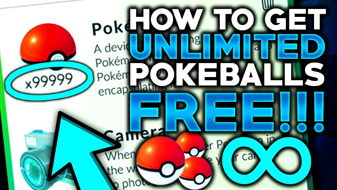 Claim Unlimited Pokecoins & Pokeballs For Free! 100% Working [2021]